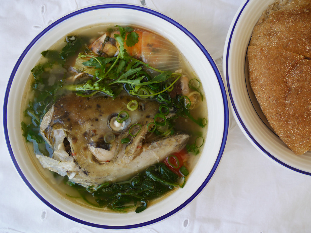 A simple recipe for river fish soup in the field and at home 58