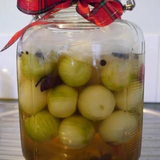 Probiotic pickled onion recipe - lacto-fermentation #20