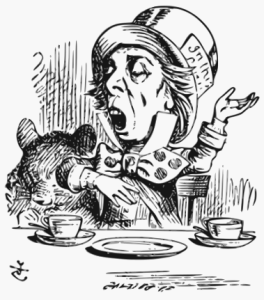 The Mad Hatter, illustration by John Tenniel
