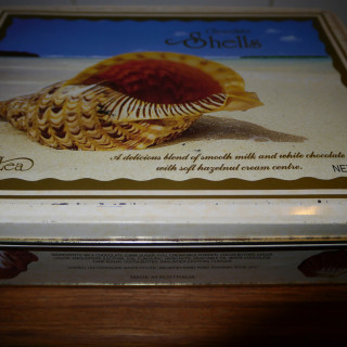 A poem a day – 10 minute poem – Chocolate Shells box