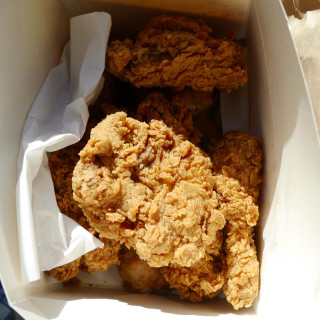 A poem a day - Haiku - Fried chicken