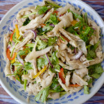 How to make yum tien gai - Lao chicken feet salad recipe #42