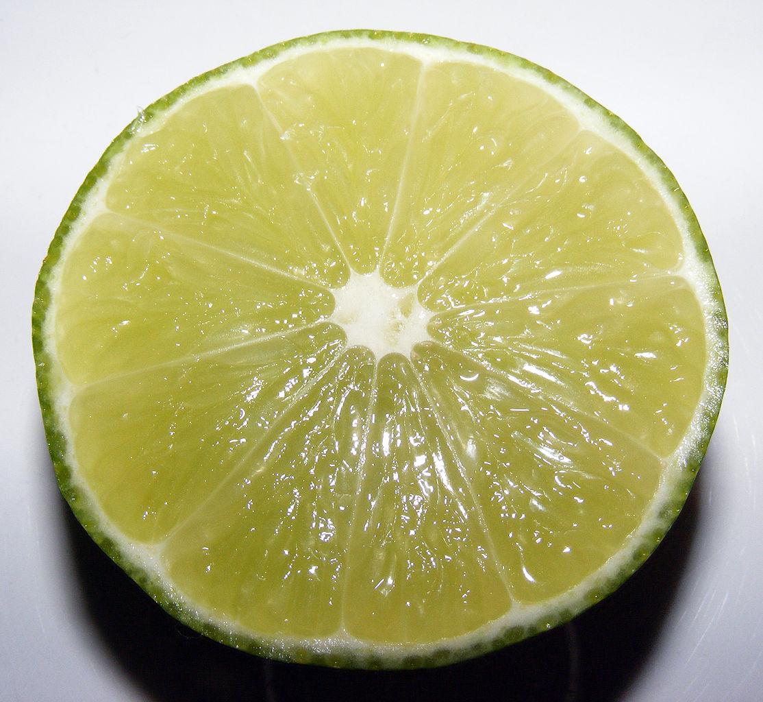 Lime, half