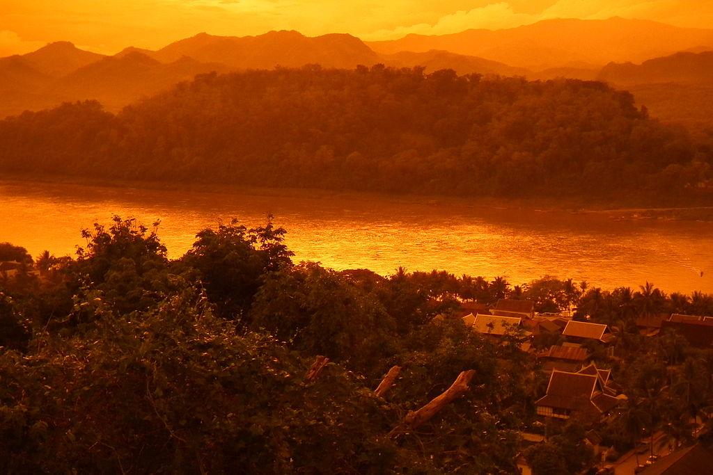 Phou si - Mekong River - Luang Prabang Laos